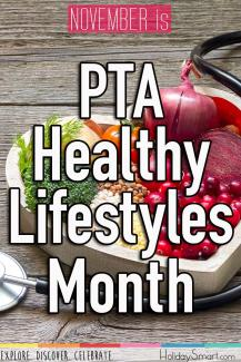 November is PTA Healthy Lifestyles Month