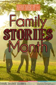 November is Family Stories Month