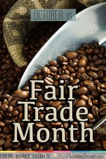 October is Fair Trade Month