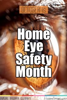 October is Home Eye Safety Month