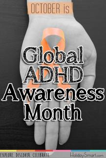 October is Global ADHD Awareness Month