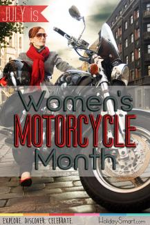 July is Women's Motorcycle Month!