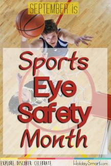 September is Sports Eye Safety Month!