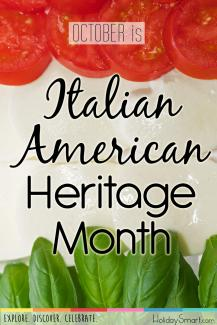 October is Italian-American Heritage Month