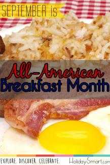 September is All American Breakfast Month!