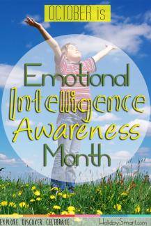 October is Emotional Intelligence Awareness Month