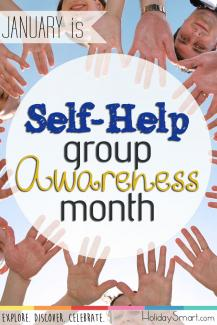 January is Self-help Group Awareness Month