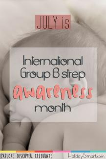 July is International Group B Strep Awareness Month