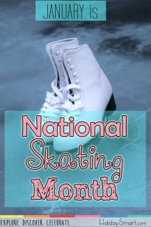January is National Skating Month