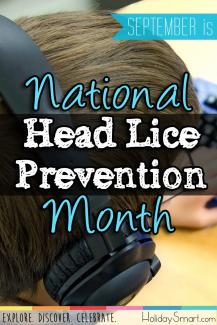 September is National Head Lice Prevention Month