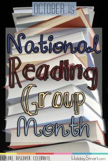 October is National Reading Group Month