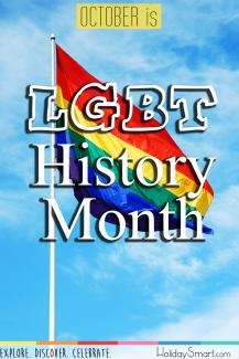 October is LGBT+ History Month