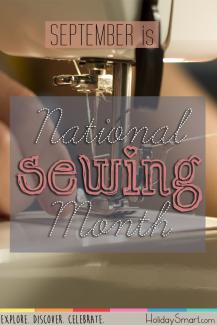 September is National Sewing Month!