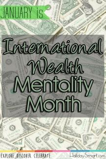 January is International Wealth Mentality Month