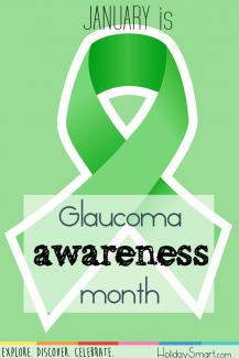 January is National Glaucoma Awareness Month