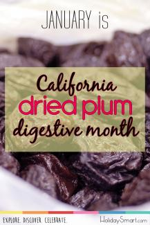 California Dried Plum Digestive Health Month Open Primary tabs configuration options Primary tabs