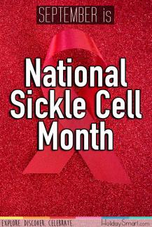 September is National Sickle Cell Month