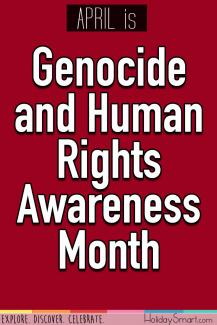April is Genocide and Human Rights Awareness Month