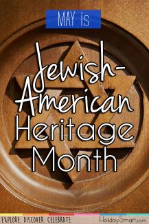 May is Jewish-American Heritage Month