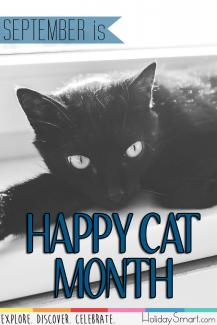 September is Happy Cat Month!