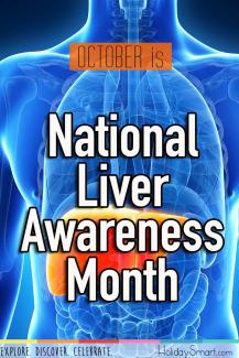 October is National Liver Awareness Month