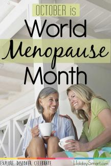 October is World Menopause Month