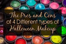 The Pros and cons of 4 different types of Halloween makeup