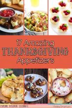17 Amazing Thanksgiving Appetizers