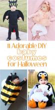 11 Adorable DIY Baby costumes for Halloween