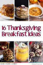 16 Thanksgiving Breakfast Ideas
