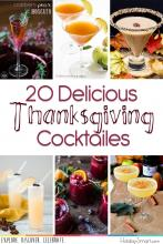 20 Delicious Thanksgiving Cocktails