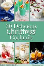 30 Delicious Christmas Cocktails