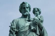 Saint Joseph with Jesus