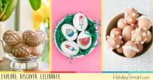 21 Ways to Decorate Your Easter Eggs Beyond Paint and Dye