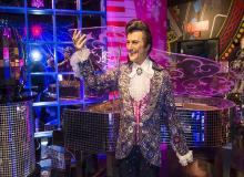Liberace Wax Figure