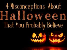 Halloween misconceptions