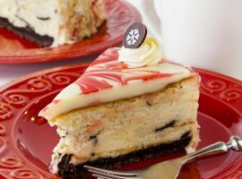 Peppermint Bark Cheesecake Day